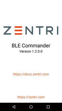 BLE Commander poster