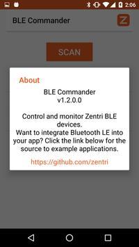 BLE Commander apk screenshot