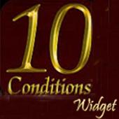 10 Conditions of Bai'at Widget icon