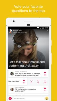 AskLive - Live Video Q & A apk screenshot