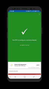 WVU PRT Status poster