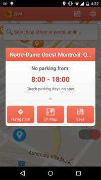 Free Parking Montreal screenshot 2