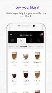 Comma Coffee screenshot 1