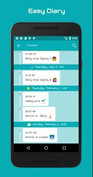 Easy Diary apk screenshot