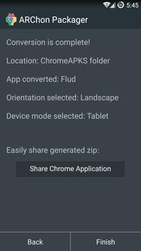 ARChon Packager screenshot 4