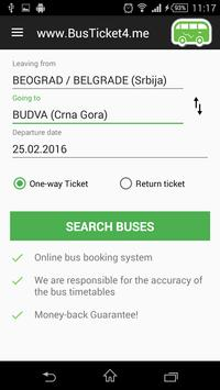 BusTicket4.me - Bus Tickets poster