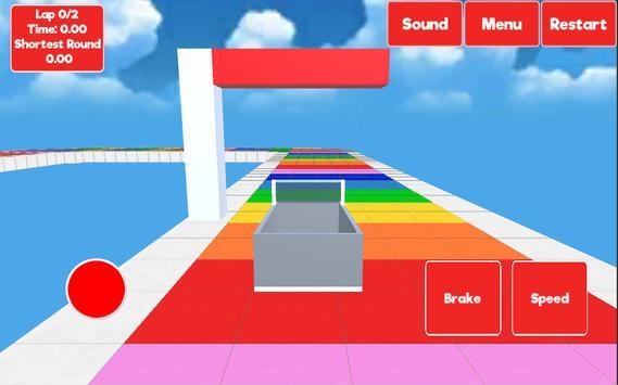 BlockRace - Race to the sky apk screenshot