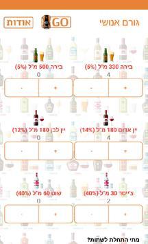 גורם אנושי - מחשבון אלכוהול poster