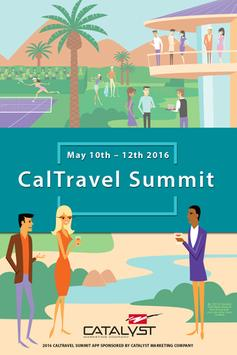 2016 CalTravel Summit poster
