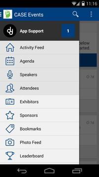 Case Events app screenshot 1