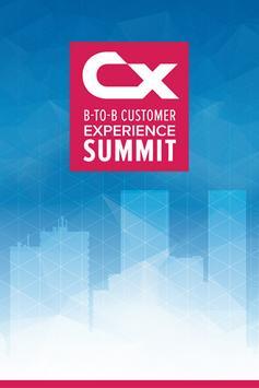 CX Summit poster
