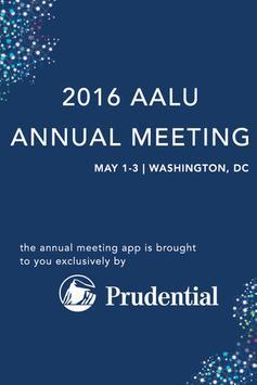 AALU 2016 Annual Meeting poster