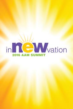2016 AAM Summit poster