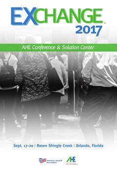 AHE EXCHANGE 2017 poster