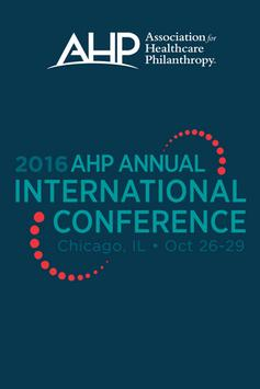 AHP Annual International poster