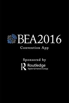 BEA @ The NAB Show poster