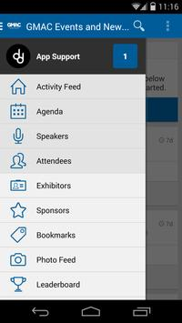 GMAC Events and News apk screenshot