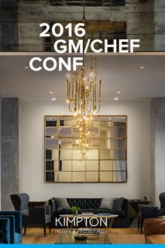 GM/Chef Conference 2016 poster