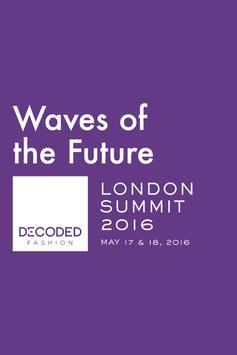 Decoded Fashion London Summit poster
