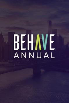 BEHAVE Annual 2017 poster