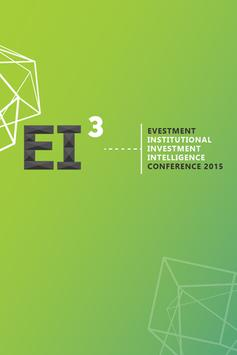 EI3 Conference poster