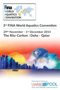 FINA World Aquatics Convention poster