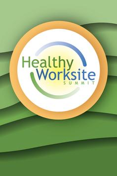 Healthy Worksite Summit poster