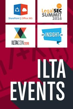 ILTA Events for 2016 poster