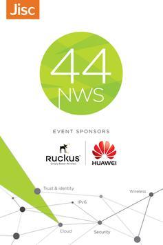 Networkshop 44 poster