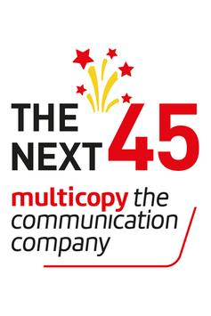 Multicopy - The Next 45 poster