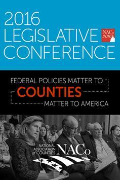 NACo Legislative Conference poster