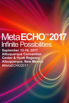 MetaECHO 2017 Conference poster