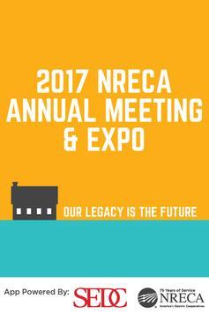NRECA Annual Meeting 2018 poster
