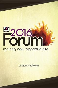 SHAZAM 2016 Forum poster