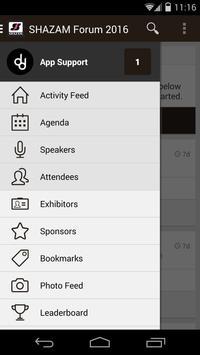 SHAZAM 2016 Forum apk screenshot