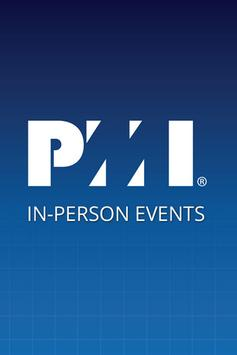 PMI InPerson Events poster