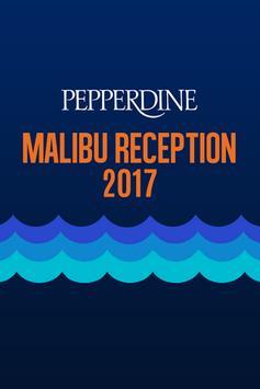 Pepperdine Malibu Reception poster
