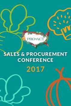 PRO*ACT Sales & Procurement poster