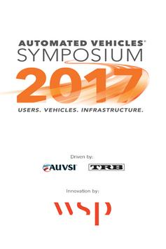Automated Vehicles Symposium poster