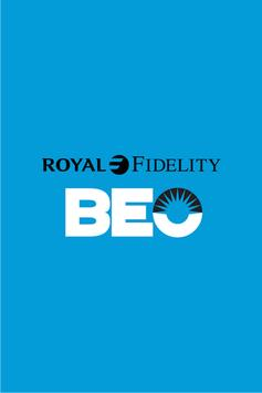 Royal Fidelity BEO poster