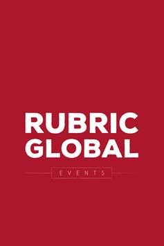 Rubric Global Events poster