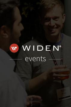 Widen Events poster