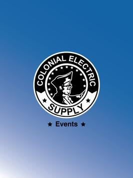 Colonial Electric Events apk screenshot