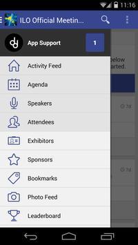 ILO Official Meetings App screenshot 1