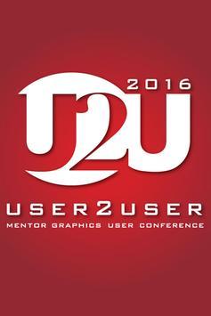 U2U Santa Clara 2016 poster