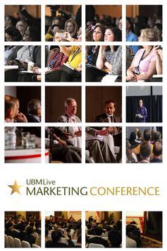 UBM Live Marketing Conference poster