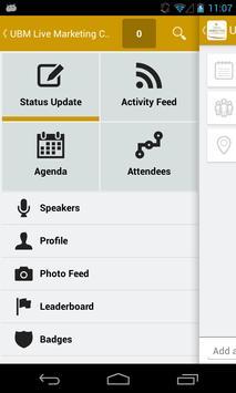 UBM Live Marketing Conference apk screenshot