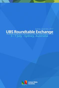 UBS Roundtable Exchange 2017 poster