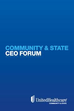UHC Community and State Forum apk screenshot