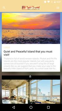 Fit2Travel App poster